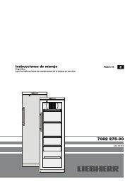 Instrucciones de manejo - Liebherr