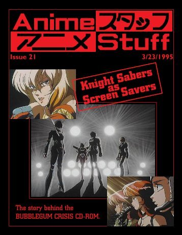 Anime Stuff issue 21 - Ftp Sunet