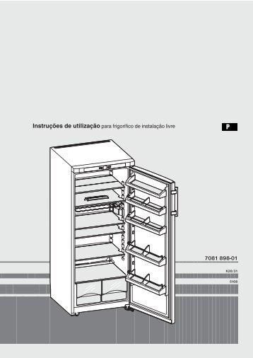 Instruções de utilização para frigorífico de instalação livre - Liebherr