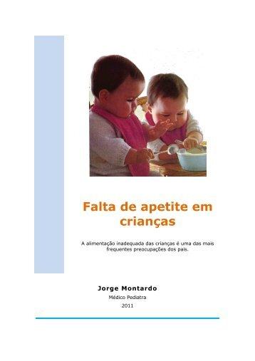 Falta de apetite em crianças - Aprendendo a Vida
