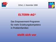 Beitrag im Workshop - Agethur