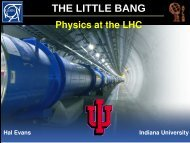 LHC - Indiana University