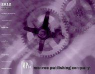 2012 Rate Card - Monroe Publishing Company