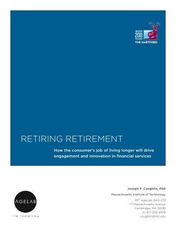 retiring retirement - Financial Planning Association - National Capital