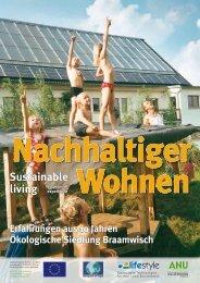 Nachhaltiger Wohnen in der Solarsiedlung ... - ANU Hamburg