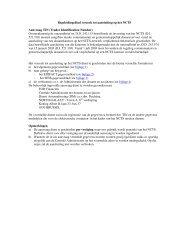 Aanvraagformulier aansluiting NCTS voor TIN en ... - Fiscus.fgov.be
