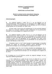 Aanslagjaar 2012 - Fiscus.fgov.be