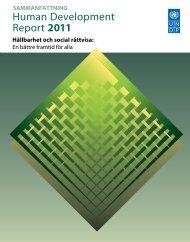 Sammanfattning - Human Development Reports - United Nations ...