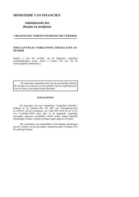 Federale Overheidsdienst FINANCIEN - Fiscus.fgov.be