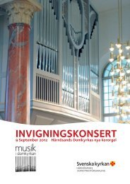 Härnösands domkyrka 9 september 2012 (pdf) - Sveriges Radio