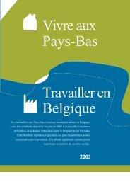 Vivre aux Pays-Bas_Travailler en Belgique - Fiscus.fgov.be