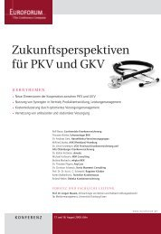 Zukunftsperspektiven für PKV und GKV - Anycare Gmbh