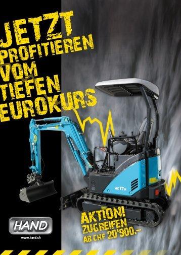 PROFITIEREN - HAND Baumaschinen AG