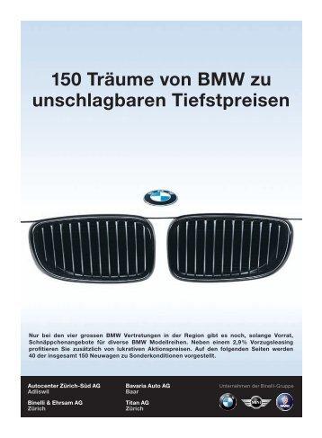 150 Träume von BMW zu unschlagbaren Tiefstpreisen - Titan AG