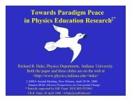 Towards Paradigm Peace in Physics Education Research