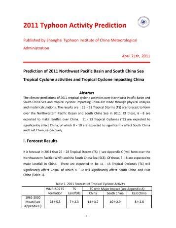 Challenge toward the prediction of typhoon behavior and downpour