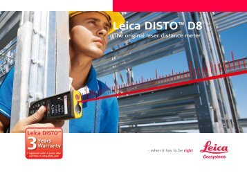 Leica DISTO™ D8