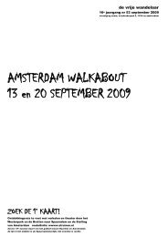 Vrije Wandelaar najaar 2009 (Walkabout) - Nemo