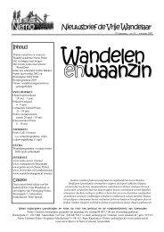 Voorjaar 2003: thema Wandelen en waanzin - Nemo