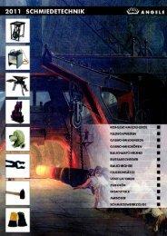 ANGELE Schmiedetechnik Katalog 2011