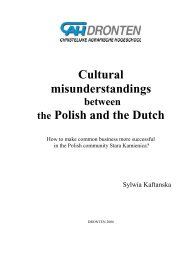 Cultural misunderstandings the Polish and the Dutch - Nemo