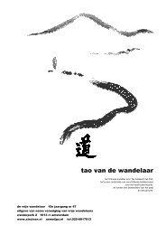 Vrije Wandelaar December 2007 - Nemo