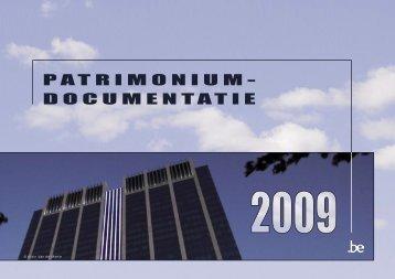 PATRIMONIUM- DOCUMENTATIE - Fiscus.fgov.be