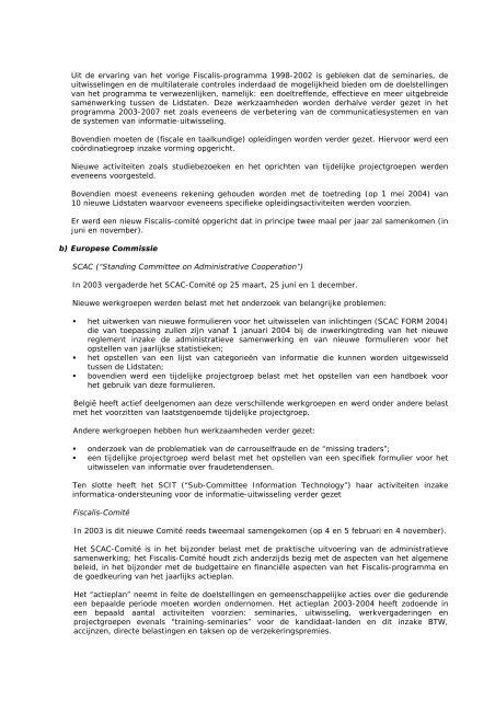 Fiscale zaken - Fiscus.fgov.be