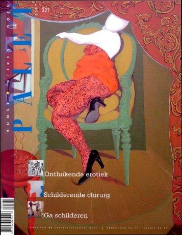 Palet 331 Nicole Carvajal De kunst van het niet-kunnen weglaten