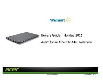 Acer Notebooks - Walmart