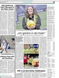 """""""Ich gehöre in die Halle"""" - Borussia Dortmund Handball"""