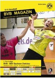 BSV Sachsen-Zwickau - Borussia Dortmund Handball