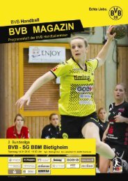 SG BBM Bietigheim - Borussia Dortmund Handball