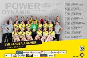 Y:- M 1 K - Borussia Dortmund Handball