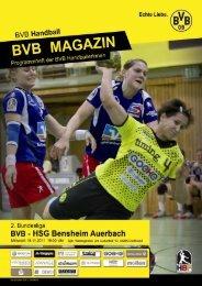 HSG Bensheim Auerbach - Borussia Dortmund Handball