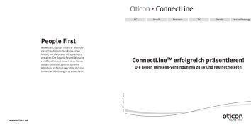 ConnectLine™ TV Adapter - Oticon