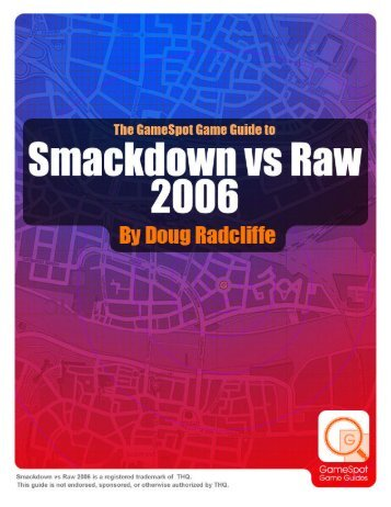 WWE SmackDown! vs. Raw Game Guide - Walmart