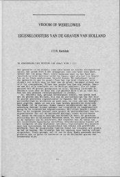 VROOM OF WERELDWIJS EIGENKLOOSTERS VAN DE ... - Groniek