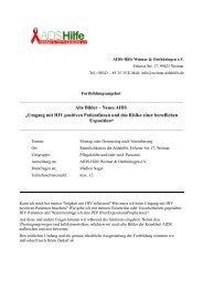"Alte Bilder – Neues AIDS ""Umgang mit HIV positiven ... - Agethur"