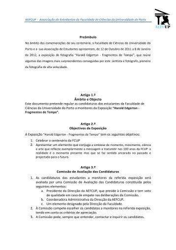 Este Ciênc A Exp 1 2 1 2 3 documento cias da Univ ... - AEFCUP