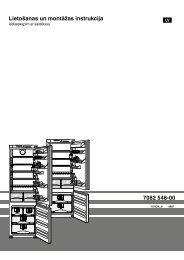 Lietošanas un montāžas instrukcija 7082 548-00 - Liebherr