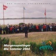 """morgenh¾fte bl"""" sommer Ð eng - DDS.dk - Det Danske Spejderkorps"""