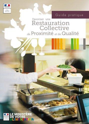 Favoriser une restauration collective de - DRAAF Rhône-Alpes