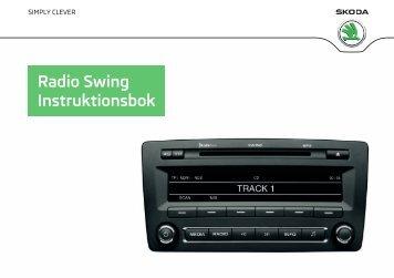 Radio Swing Instruktionsbok - Media Portal - Škoda Auto