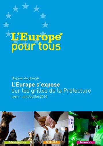 L'Europe s'expose sur les grilles de la Préfecture - DRAAF Rhône ...