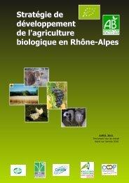 Stratégie de développement de l'agriculture biologique en ...