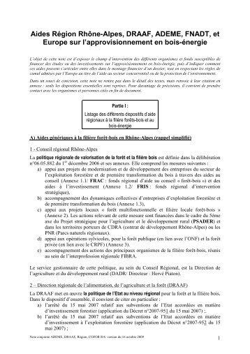 note_des_aides_sur_l_approvisionnement_16_10_09 - DRAAF ...