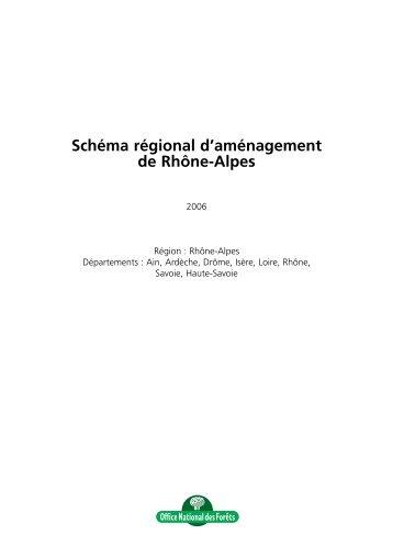Télécharger le schéma régional d'aménagement - DRAAF Rhône ...