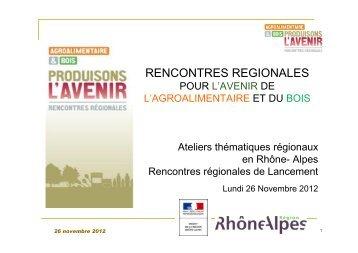 Presentation_Rencontres_IAA_RA - DRAAF Rhône-Alpes