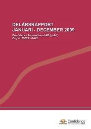Kvartalsrapport Q4-2009.indd - Cision